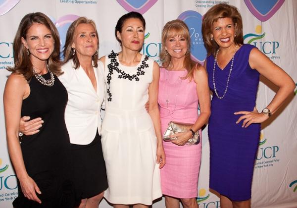 Natalie Morales, Meredith Vieira, Ann Curry, Kathie Lee Gifford and Hoda Kotb