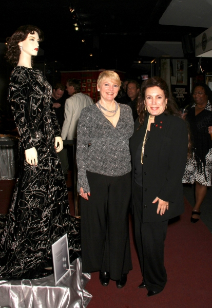 Alison Arngrim and Hollywood Museum owner Donelle Dadigan Photo