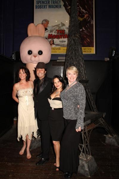 Kim Rhodes, Jaime Monroy, Romi Dames and Alison Arngrim