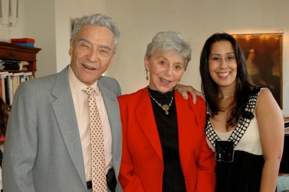Eva Haller and Monica Yunus