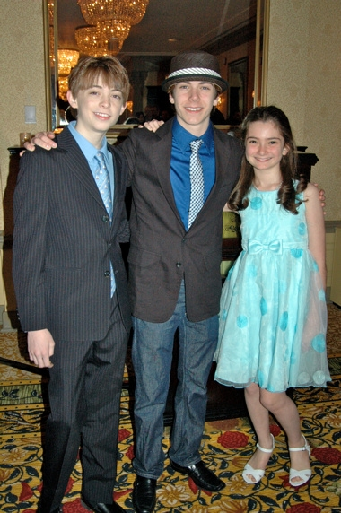 Dylan Riley Snyder, Henry Hodges, and Emily Robinson