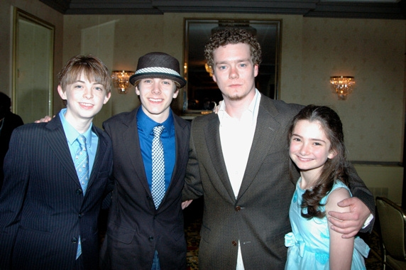 Dylan Riley Snyder, Henry Hodges, Justin Fuller and Emily Robinson Photo