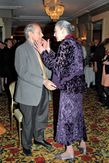 John Simon and Marian Seldes