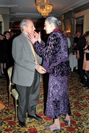 John Simon and Marian Seldes Photo