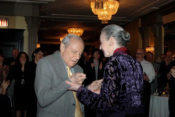 John Simon and Marian Seldes