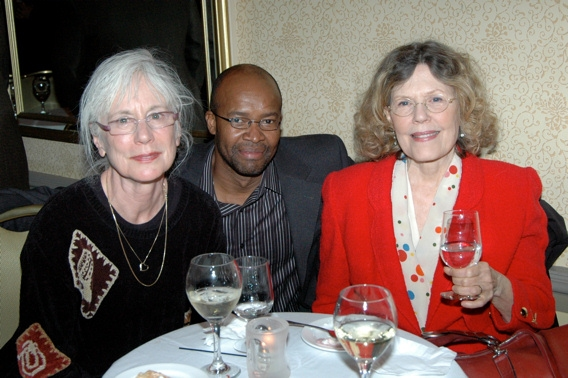Maggie Warncke, Leon Addison Brown, and Pamela Payton-Wright