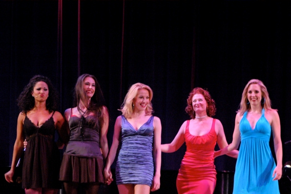 Jennifer Rias, Sara Gettlefinger, Meredith Patterson, Kerry O'Malley and Elizabeth Clinard