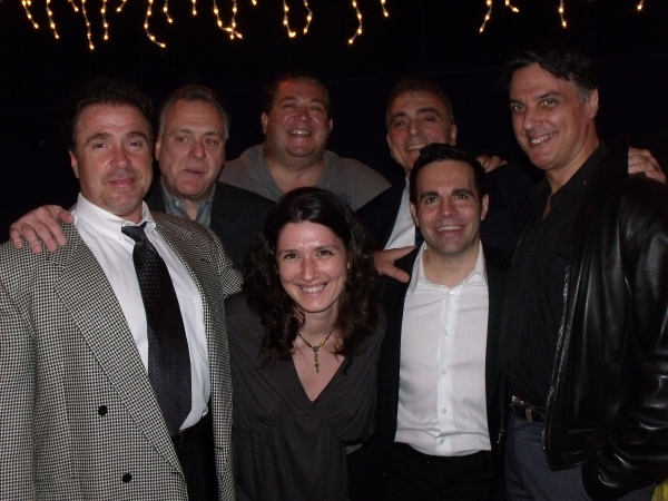 Michael Rispoli, Vincent Gogliormello, Alex Corrado, Ernest Mingione, Mario Cantone, Robert Cuccioli and Elle Sunman