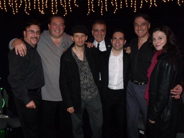 Lou Martini Jr., Alex Corrado, Louis Vanaria, Ernest Mingione, Mario Cantone, Robert Cuccioli and Antionette LaVecchia