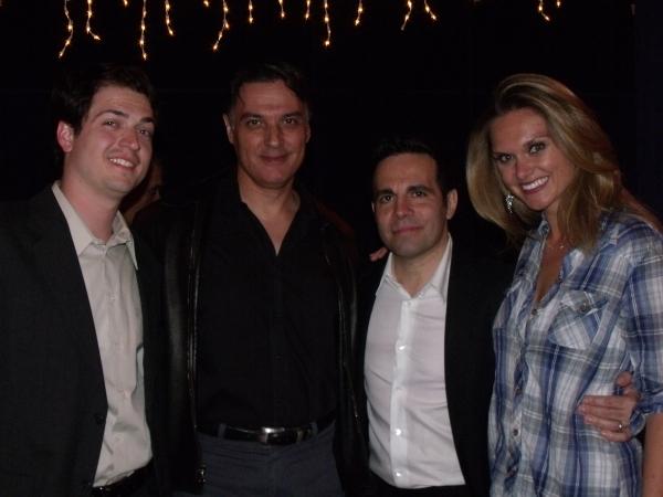 Nick Fondulis, Robert Cuccioli, Mario Cantone and Autumn Potter