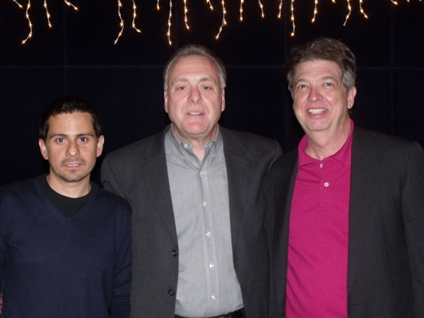 Photo Coverage: 'Twas the Night Before a Brooklyn Christmas' Industry Reading