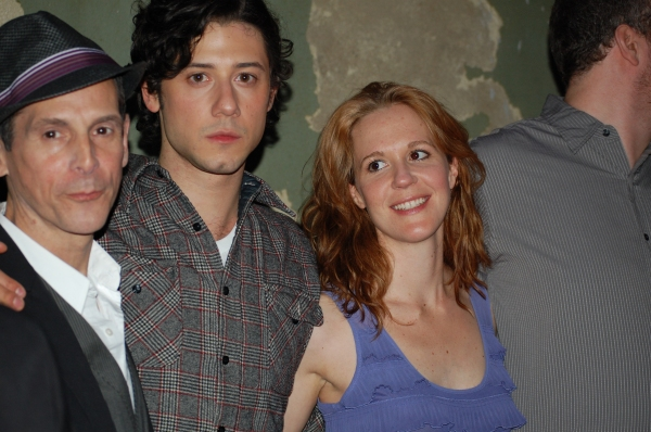 T. Ryder Smith, Hale Appleman and Kate Turnbull