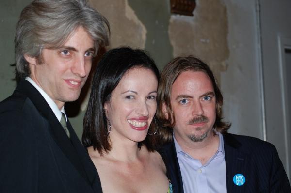 Zak Berkman, Melissa Friedman and Ron Russell Photo
