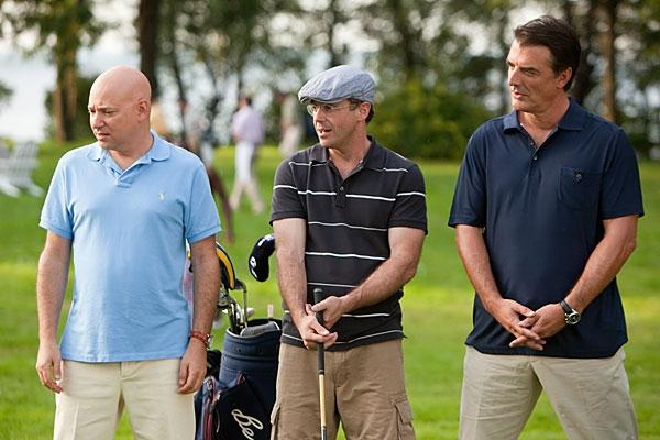David Eigenberg, Evan Handler and Chris Noth