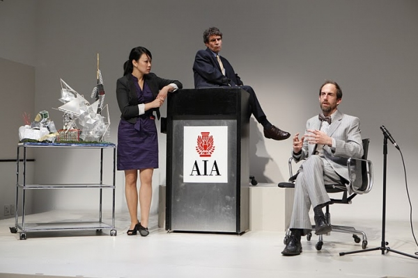 Ann Hu, Marc Carver and Joel Van Liew