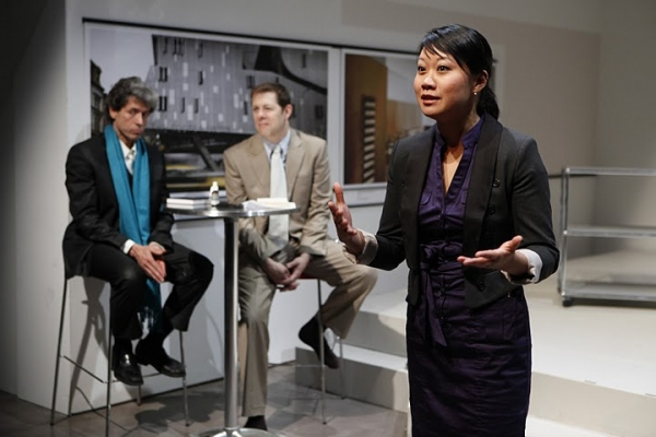 Joris Stuyck, John Bolton and Ann Hu