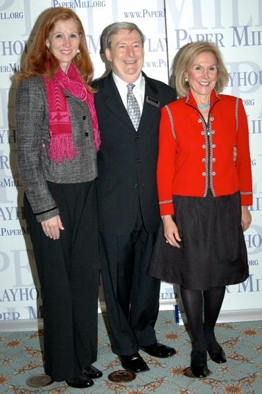 Assemblywoman Nancy Munoz, Mark W. Jones and Ruthi Zinn Byrne (Board of Trustees)