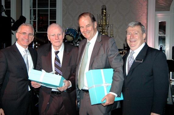 Mark S. Hoebee, Brendan T. Byrne, Thomas H. Kean Jr. and Mark W. Jones