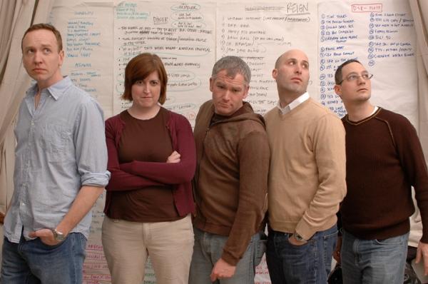SAndy Marshall, Kate James, Adam Witt, Justin Kaufmann, Stephen Schmidt