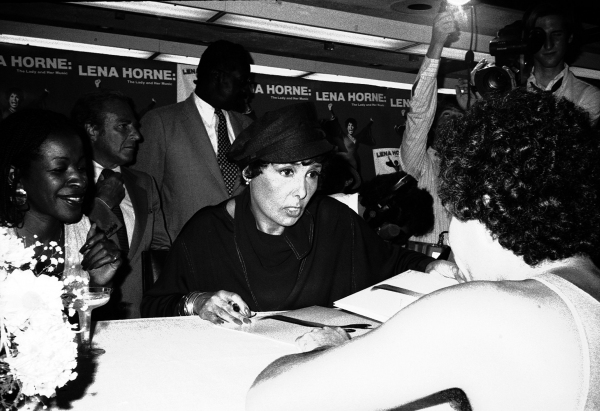 """1982 Promoting her new Original Cast Recording Album Release, """"Lena Horne: The Lady and her Music"""""""