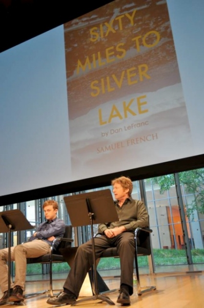 "Dane DeHaan and Joseph Adams read from LeFranc's play  ""Sixty Miles to Silver Lake."""