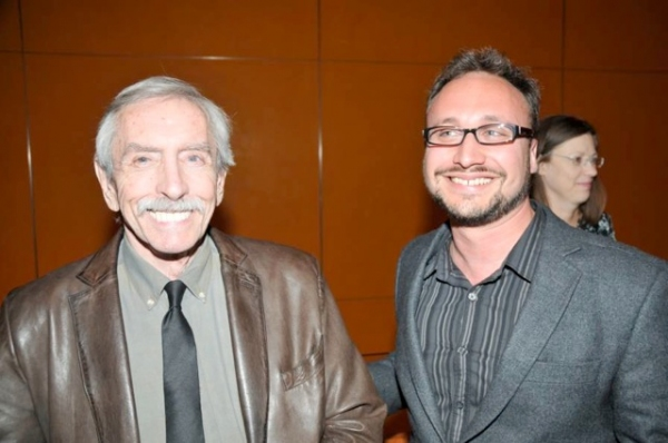 Edward Albee with  Dan LeFranc