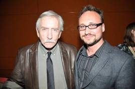 Award Judge Edward Albee and Dan LeFranc