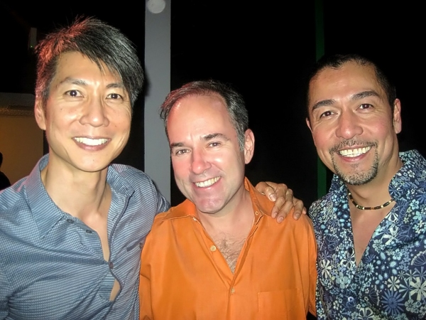 Jason Ma, Stephen Flaherty and Alan Ariano