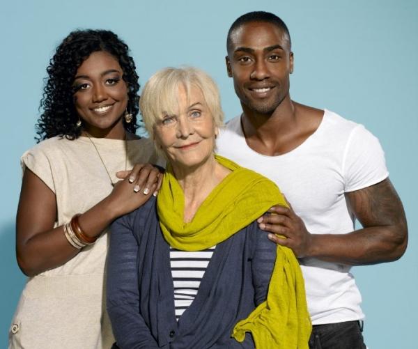 Patina Miller, Sheila Hancock and Simon Webbe