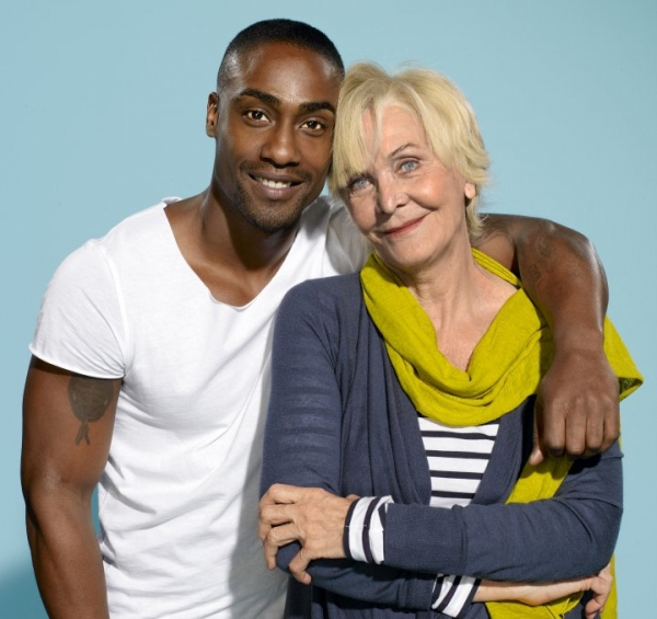 Sheila Hancock and Simon Webbe