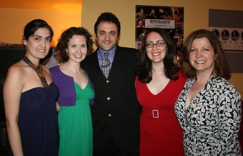 Sarah Stockton, Jennifer Gawlik, Eric Parness, Rachel Reiner and Susan Ferrara. Photo