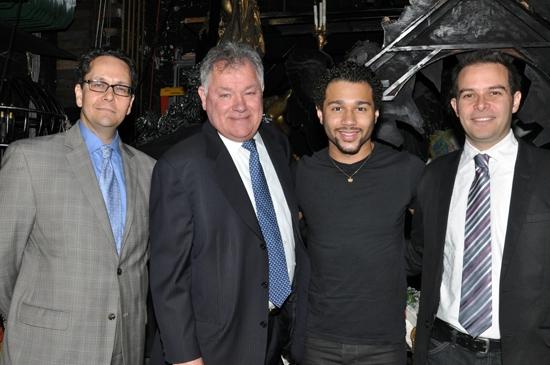 Paul King, Robert Wankel, Corbin Bleu & Peter Avery