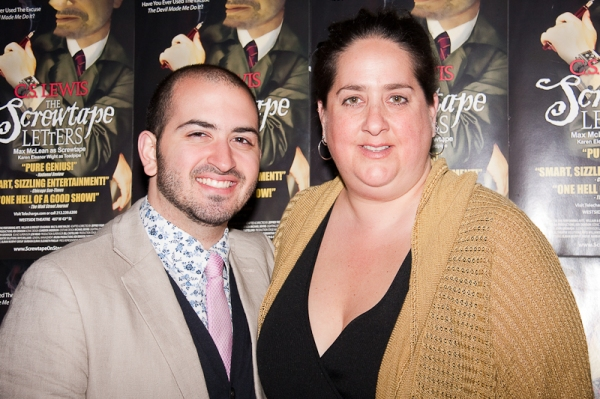 Photo Flash: Opening Night Of The SCREWTAPE LETTERS