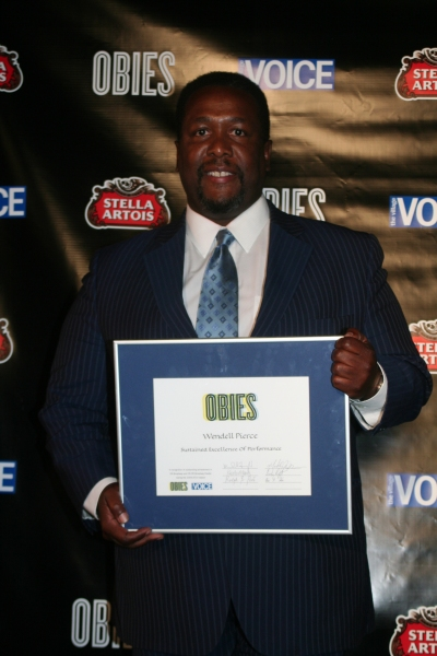 Wendell Pierce at 2010 Village Voice Obie Awards