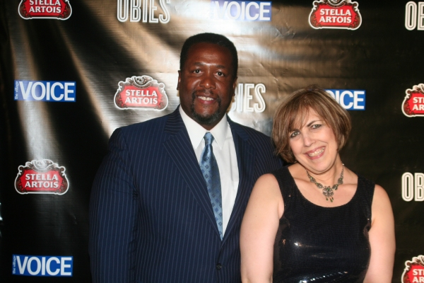 Wendell Pierce and Gail Parenteau
