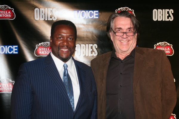 Wendell Pierce and Steve DiLauro