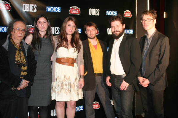 Richard Foreman, Shannon Sindelar, Samara Naeymi, Travis Just, Brendan Regimbal and Peter Ksander at 2010 Village Voice Obie Awards