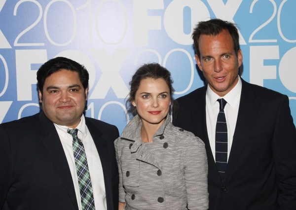 Joe Nunez, Keri Russell and Will Arnett (Running Wilde)
