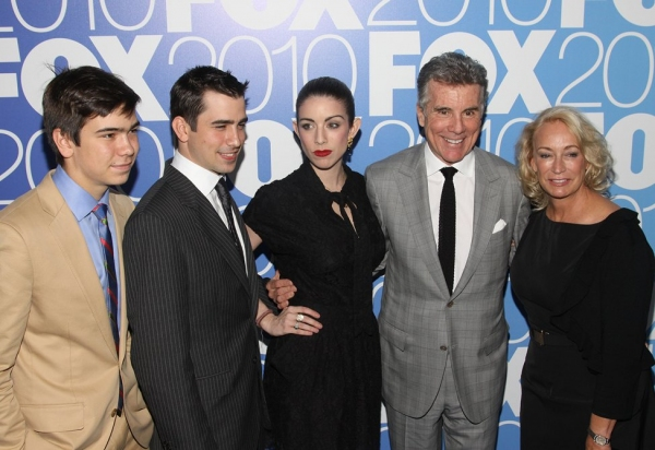 Joe Walsh and Family at FOX '10-'11 Primetime Season Launch