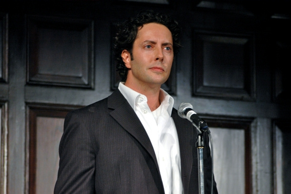 Greg Mills at The 2009-2010 Theatre Museum Awards