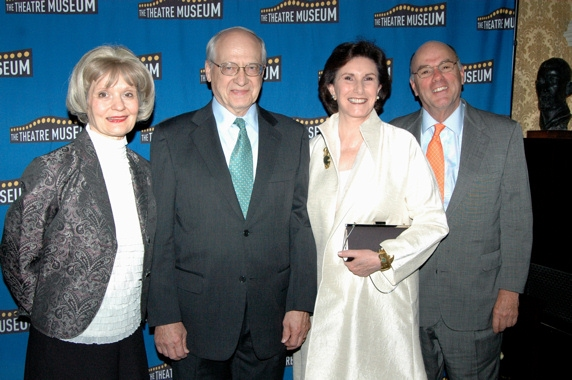 Helen M. Guditis, Leon Embry (President and CEO Samuel French Inc.), Margo Hebald, and Tappan Wilder