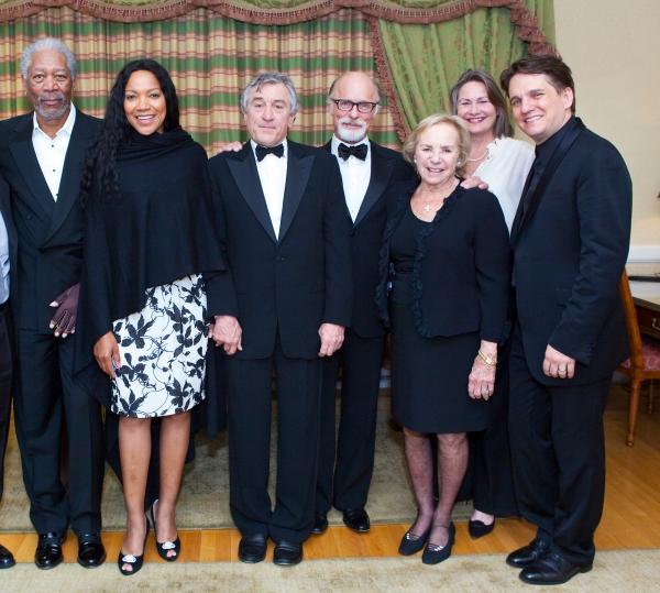 Morgan Freeman, Grace Hightower, Robert De Niro, Ed Harris, Ethel Kennedy, Cherry Jones and Keith Lockhart