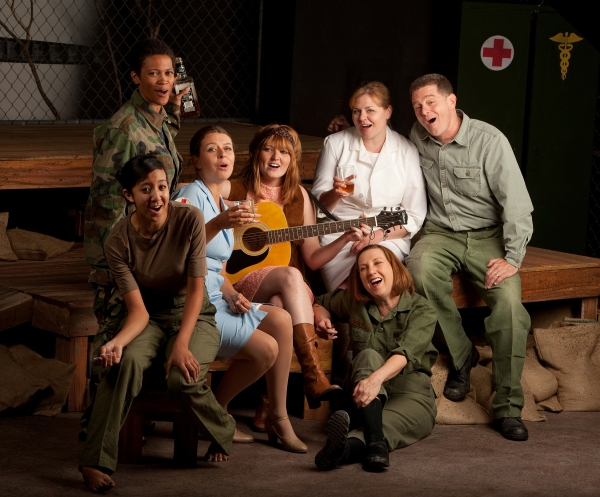 Janet Bruce, Catherine Killough, Maria Rallings, Samantha Cormier, Jennifer Roberts, Steve McKee, T Loving at Beowulf Alley Theatre's A PIECE OF MY HEART
