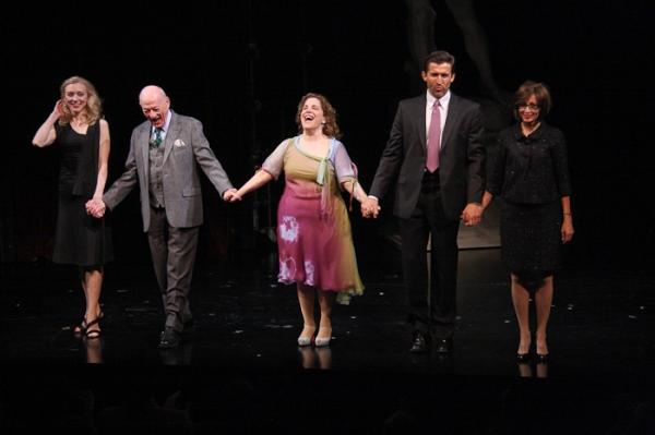 Tina Benko, Alan Mandell, Claudia Shear, Jonathan Cake and Natalija Nogulich at Restoration Opens at NYTW