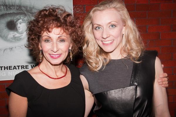Natalija Nogulich and Tina Benko at Restoration Opens at NYTW