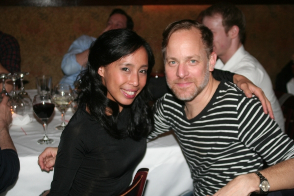 Mayumi Miguel and Bruce Pask  Photo