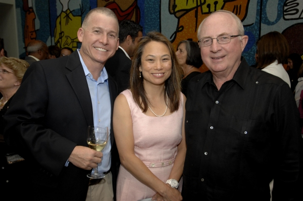 Kevin Miller, Marion Davis and David Parker