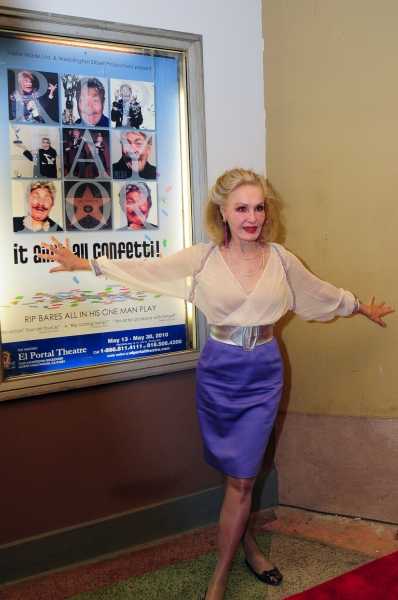 Photo Flash: Opening Night of Rip Taylor's IT AIN'T ALL CONFETTI at El Portal