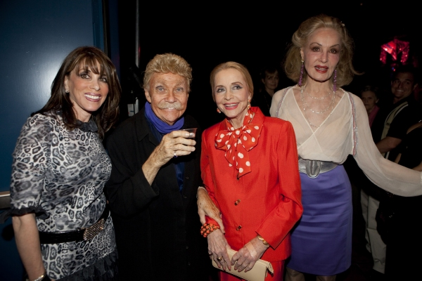 Kate Linder, Rip Taylor, Anne Jeffreys and Julie Newmar at Opening Night of Rip Taylor's IT AIN'T ALL CONFETTI at El Portal