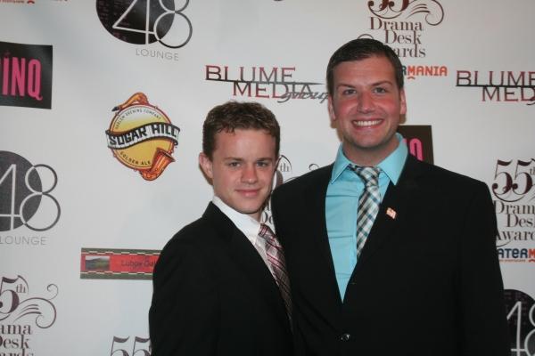 Michael Duling and Tom D'Angora